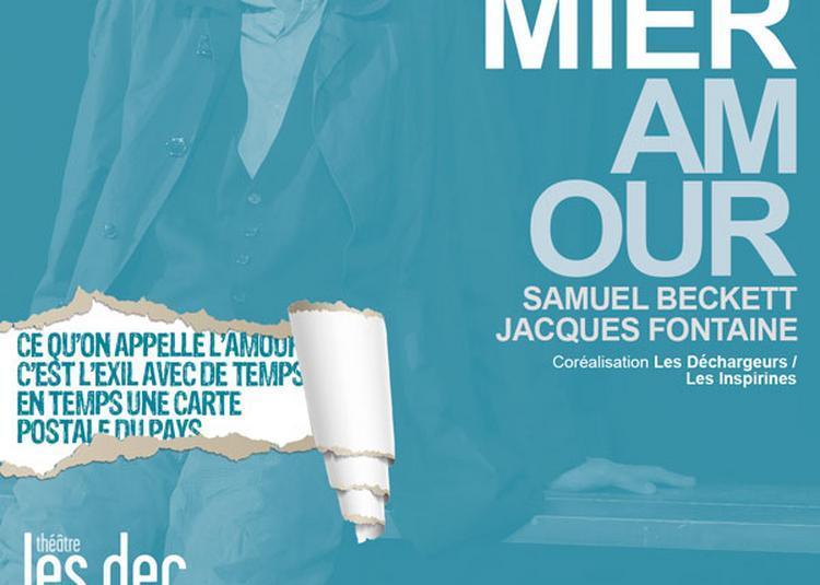Premier amour de Samuel Beckett à Paris 1er