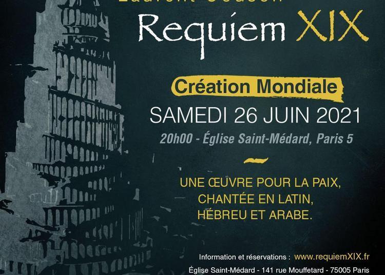 Première mondiale RequiemXIX à Paris 5ème