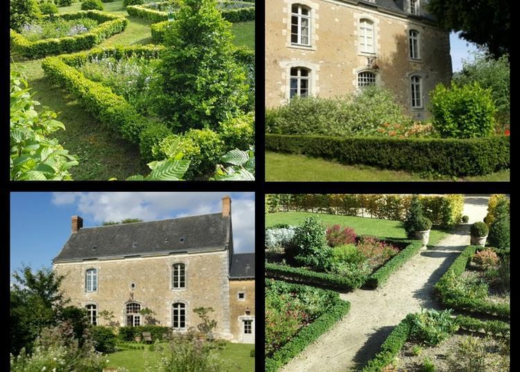 Presbytère Des Xviiè Et Xviiiè Et Son Jardin Des Langottières à Chevire le Rouge