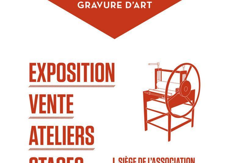 Présentation D'un Atelier De Gravure D'art Par Six Résidents à Metz