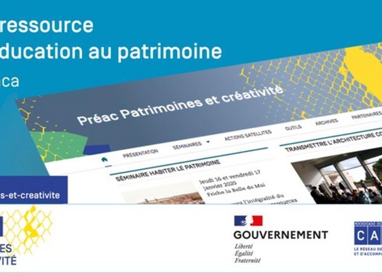 Présentation D'un Site Ressource Pour L'éducation Au Patrimoine De La Région Paca à Marseille
