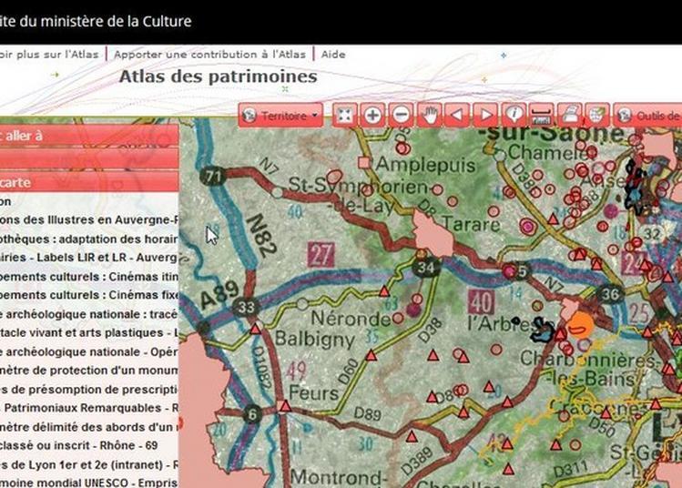 Présentation De L'atlas Des Patrimoines à Lyon