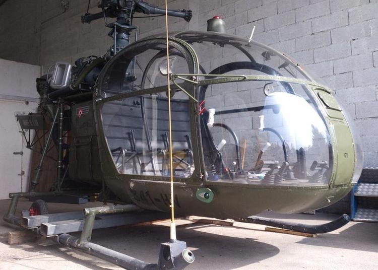Présentation De L'hélicoptère Alouette 2 à Avord
