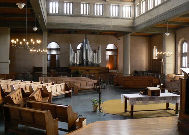 Présentation De L'orgue Du Temple Protestant à Le Havre