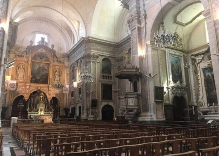 Présentation De La Basilique Et De L'orgue à Montpellier