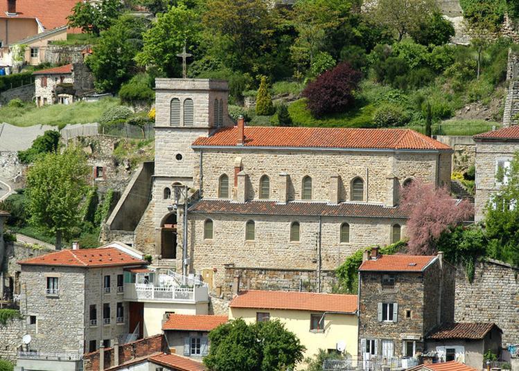 Présentation De La Restauration Des Fresques à Saint Ennemond