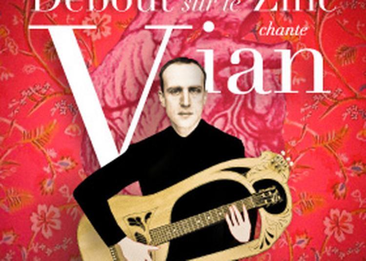 Présentation de la saison suivie de Debout Sur le Zinc chante Vian à Aubergenville