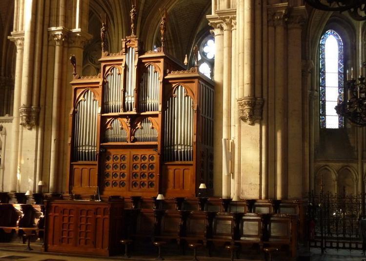 Présentation Des Deux Orgues De La Cathédrale Par Paul Haffray Et Michael Matthes à Troyes