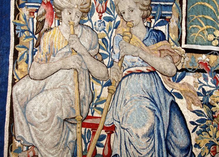Présentation Des Ornementations Des Tapisseries Du Sacre D'henri Iv à Chartres