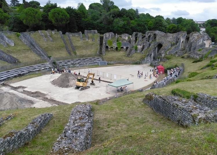Présentation Des Premiers Résultats Des Sondages Archéologiques Réalisés à L'amphithéâtre Antique De Saintes En Juin 2021
