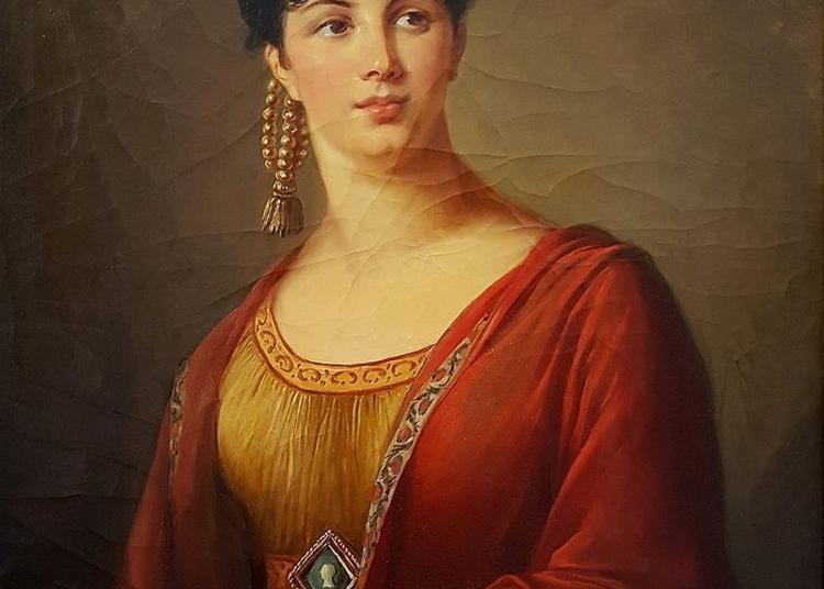 Présentation Du Portrait De La Cantatrice Giuseppina Grassini Par Elisabeth Vigée-lebrun Au Musée Calvet à Avignon