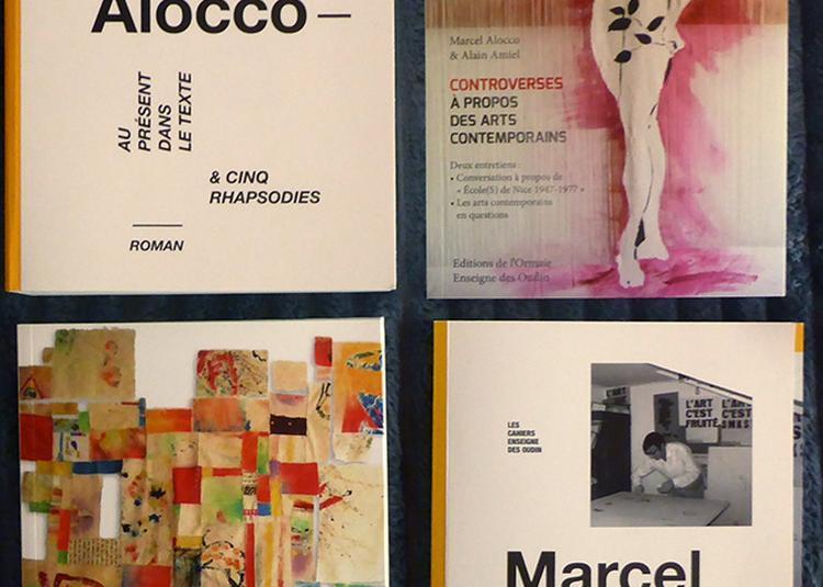 Présentations et dédicaces par les auteurs Marcel Alocco, Alain Amiel, Martine Monacelli, Jacques Simonelli à Nice