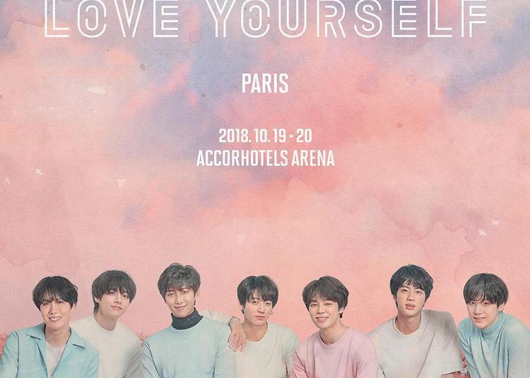 BTS - Prestation Package Love Yourself à Paris 12ème