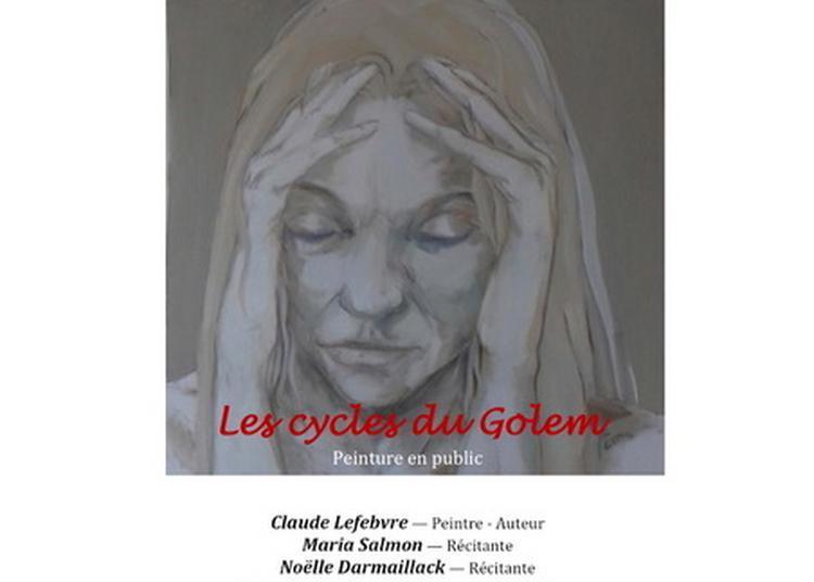 Printemps des poetes - peinture en pulic à Angers