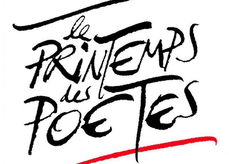 Printemps des poètes à La Ferte Gaucher en 2018