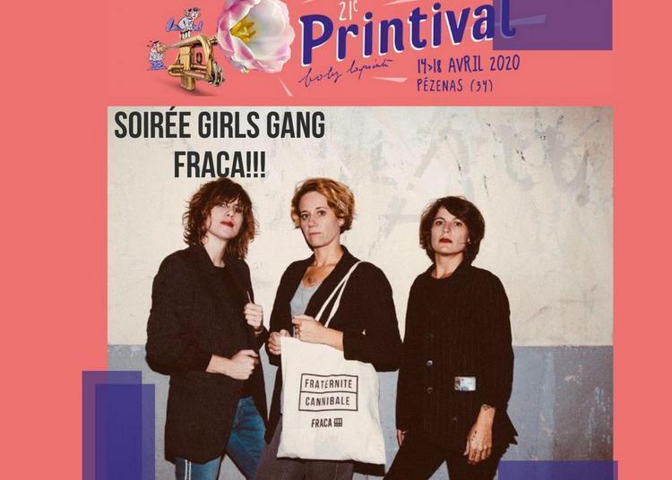 Printival Boby Lapointe - Carte B À Fraca : Soirée Girls Gang / La Pietà à Pezenas