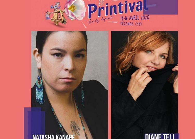 Printival Boby Lapointe - Diane Tell / Natasha Kanapé - Journée Canada/Québec à Pezenas