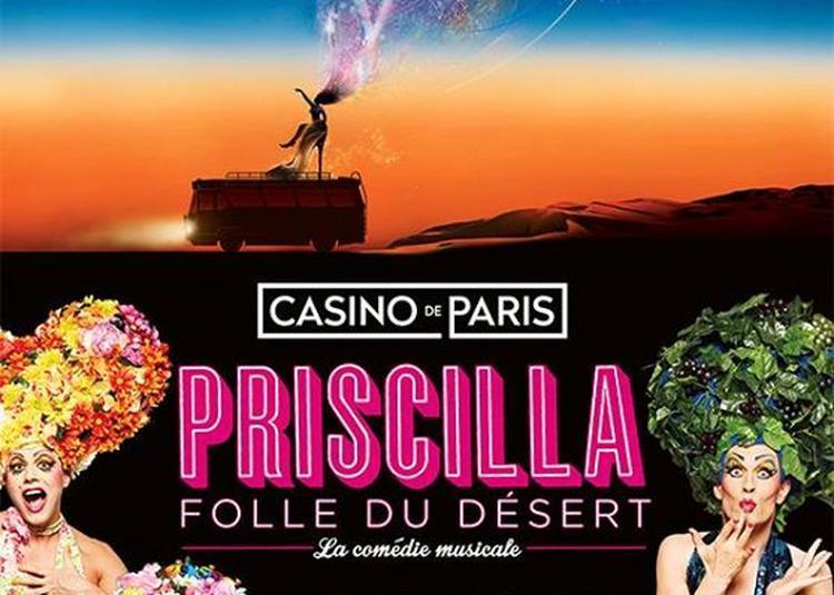Priscilla folle du désert à Saint Etienne
