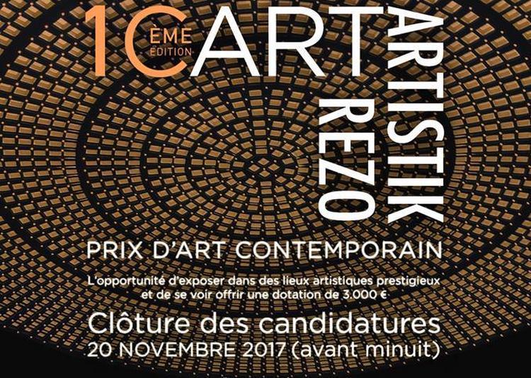 Prix Icart Artistik Rezo à Paris 2ème