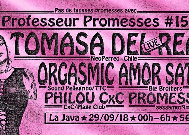 Professeur Promesses #15 à Paris 10ème