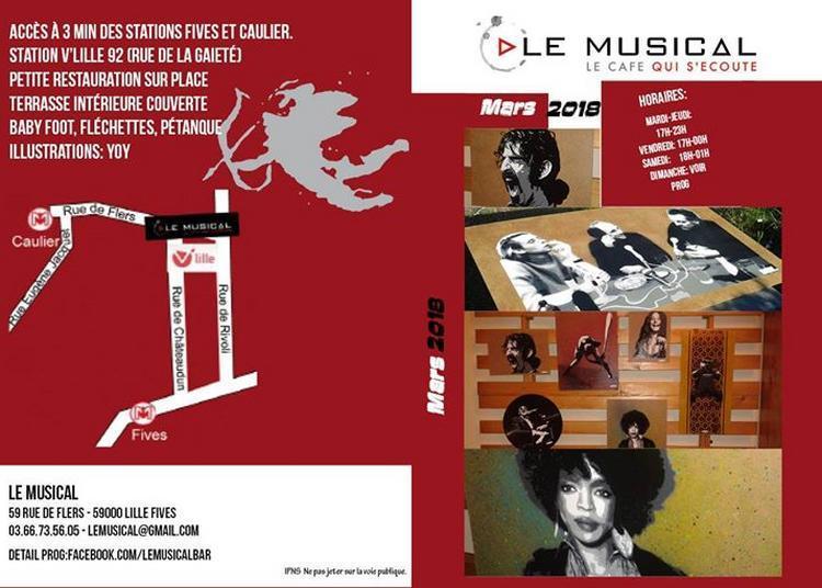 Programmation Le Musical: Mars 2018 à Lille