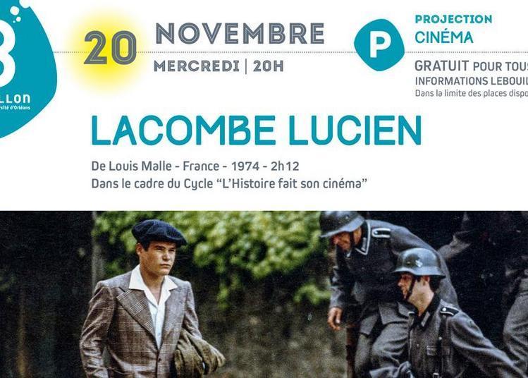 Projection cinéma gratuite : Lacombe Lucien à Orléans