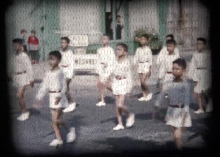 Projection D'un Film 8 Mm Privé Inédit De Henri Félix à Autun