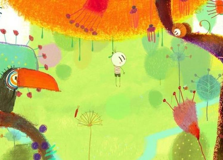 Projection D'un Film De Cinéma D'animation à Annecy