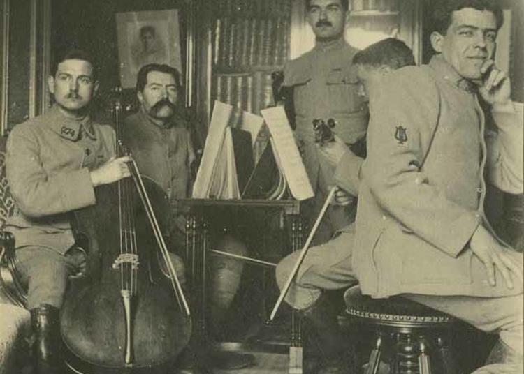 Projection Le Violoncelle Des Tranchées à Douaumont