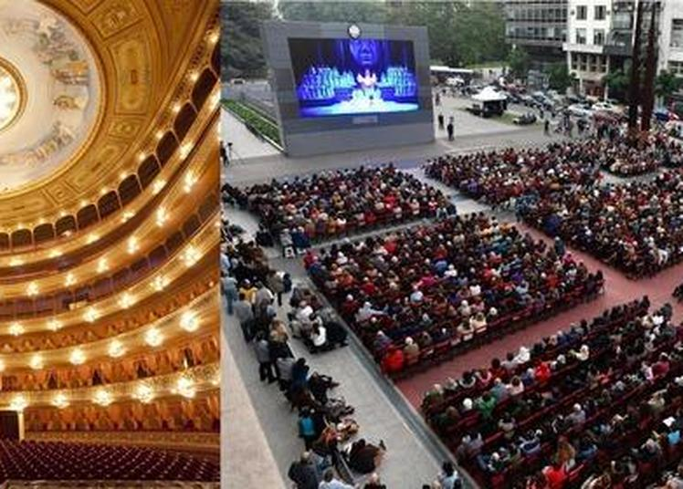 Projections Culturelles Anniversaire 110 Ans Teatro Colón (buenos Aires, Argentine) à Boulogne sur Mer