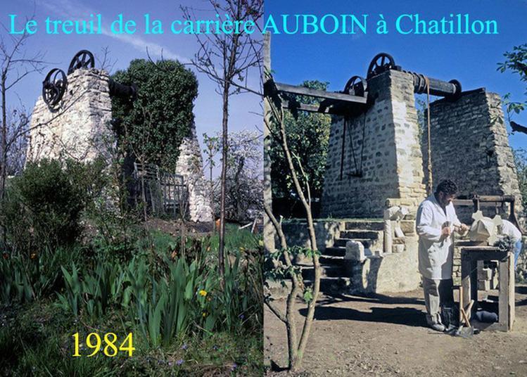 Projections Sur L'industrie De La Pierre À Bâtir Et Les Étapes De Restauration Du Treuil De La Carrière Auboin À Châtillon à Chatillon