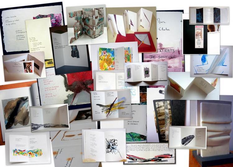 Exposition des livres d'artistes d'Alain Marc à Beauvais