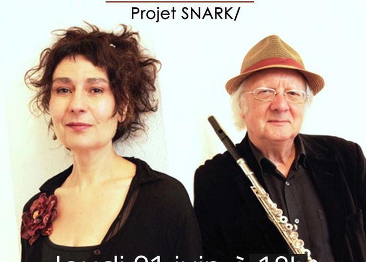Projet Snark   -  Franca Cuomo Et Michel Edelin à Cachan