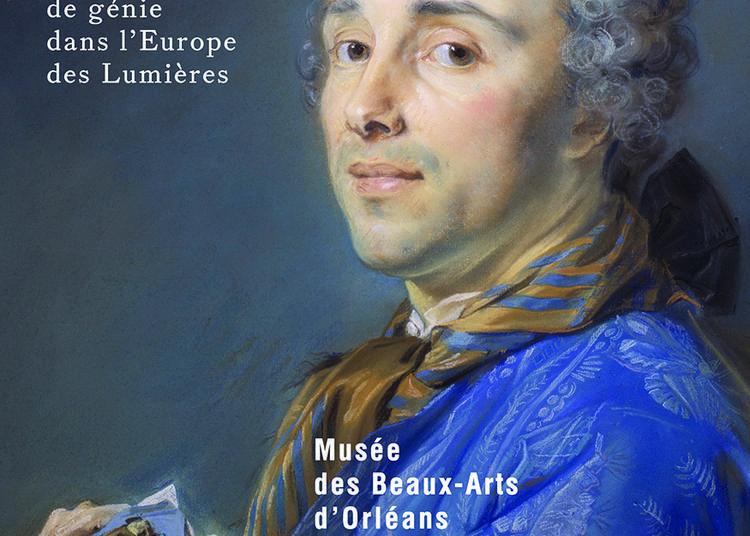 Jean-Baptiste Perronneau, portraitiste de génie dans l'Europe des Lumières à Orléans