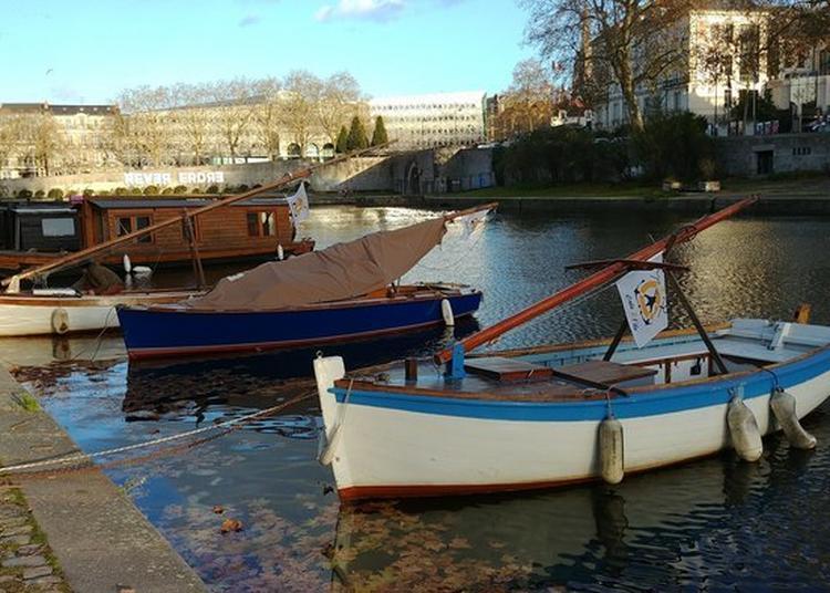 Promenade à Bord Des Bateaux Du Patrimoine De La Flotille Erdre - La Cale 2 L'île à Nantes