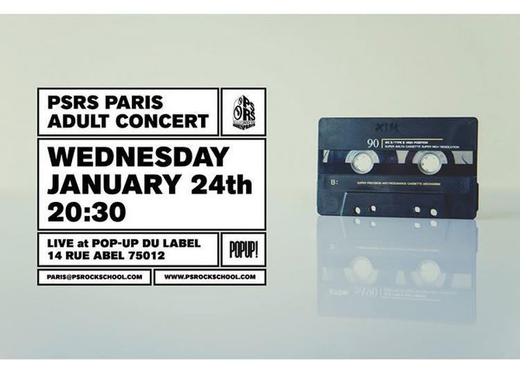 Psrs Paris Adult Concert à Paris 12ème