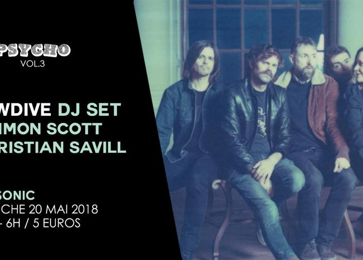 Psycho Vol.3 / Slowdive Dj Set à Paris 12ème