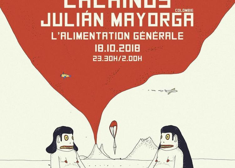 Psychotropicos #2: Lachinos & Julian Mayorga à Paris 11ème