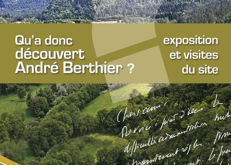 Qu'a Donc Découvert André Berthier À Chaux-des-crotenay ? à Chaux des Crotenay