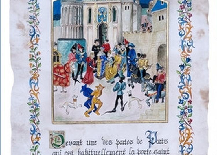 Quand La Calligraphie S'invite Au Château à Saint Florent sur Cher
