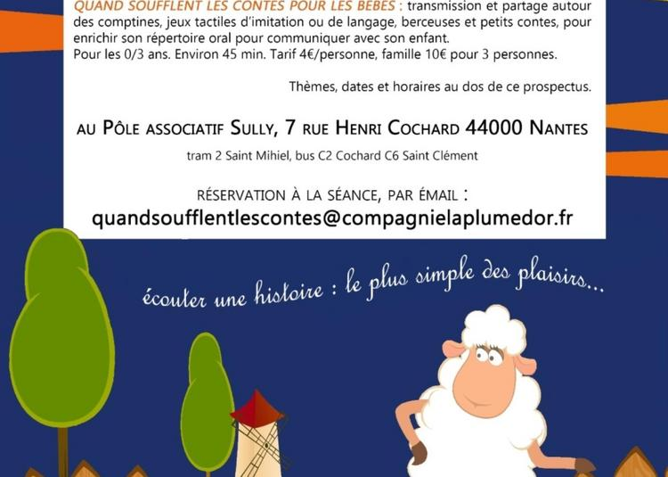 Quand soufflent les contes pour les bébés : On va à la ferme ! à Nantes