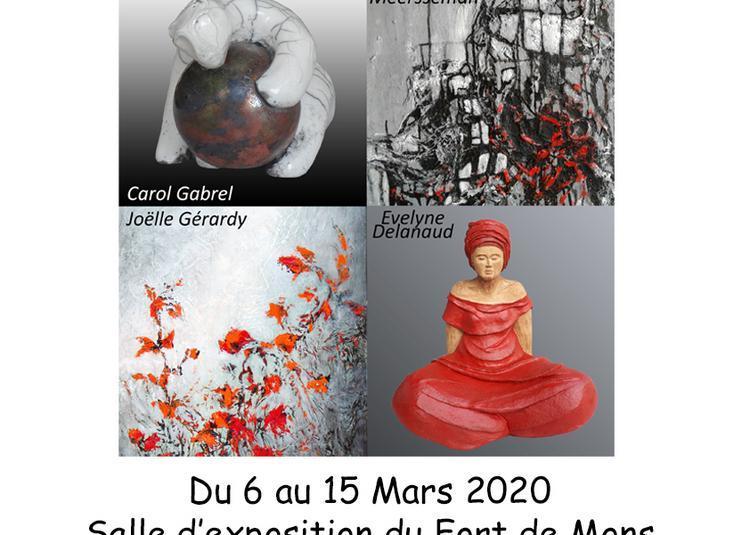 Quatre femmes - Quatre visions différentes à Mons Baroeul