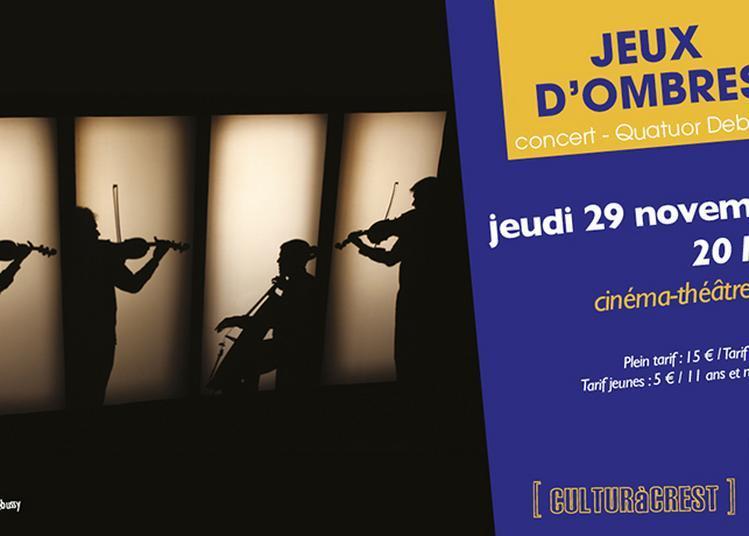 Quatuor Debussy - Jeux d'Ombres à Crest