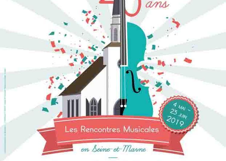 Quatuor Elmire - Les Rencontres Musicales à Bois le Roi