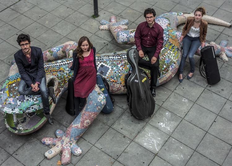 Quatuor Ernest à L'université - Campus Bordeaux Victoire