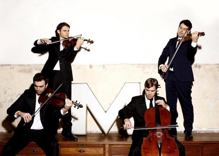 Quatuor Modigliani / Éric Lesage à Lieusaint