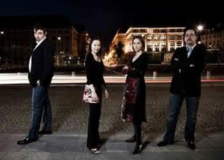 Vanessa Wagner & Quatuor Tana à Chambord