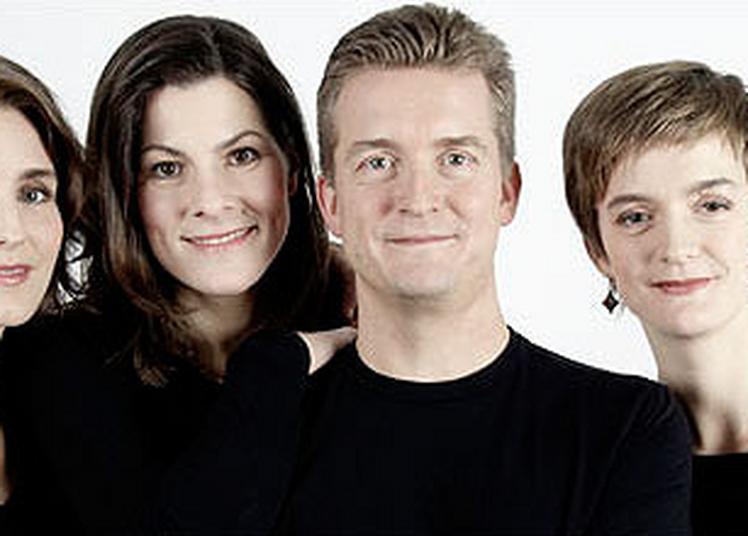 Quatuor Tetzlaff à Paris 8ème