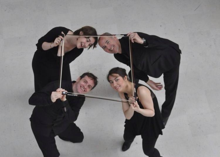 Quatuor Thymos / Dvorák, Schubert à Paris 19ème