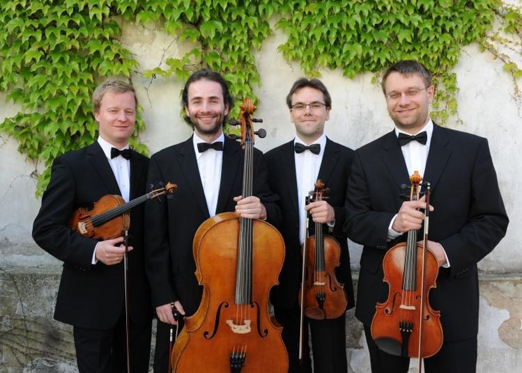 Festival de Quatuors du Luberon - Concert Du Quatuor Zemlinsky et Michel LETHIEC (clarinette) à Roussillon